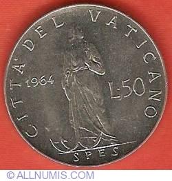 Image #2 of 50 Lire 1964 (II)