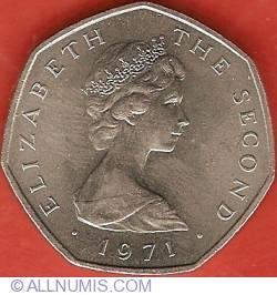 Imaginea #1 a 50 New Pence 1971