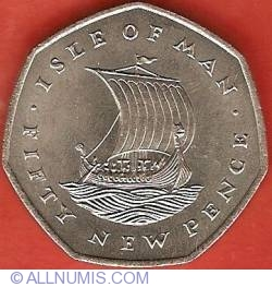 Image #2 of 50 New Pence 1971