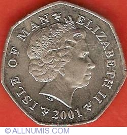 Image #1 of 50 Pence 2001 AA