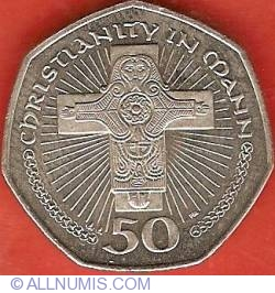 Image #2 of 50 Pence 2001 AA