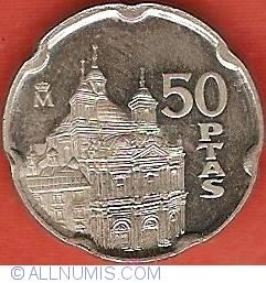 Image #2 of 50 Pesetas 1995