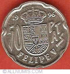 50 Pesetas 1996