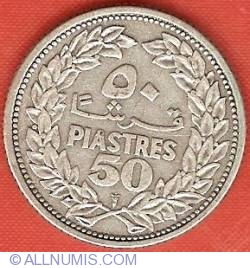 Image #2 of 50 Piastres 1952