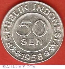 Image #1 of 50 Sen 1958