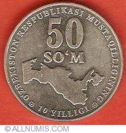 Image #2 of 50 So'm 2001