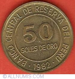 50 Soles 1982 without LIMA