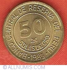 Image #2 of 50 Soles 1985