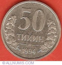 Imaginea #2 a 50 Tiyin 1994