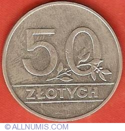 Image #1 of 50 Zlotych 1990