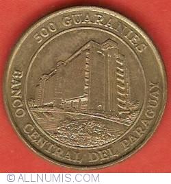 Imaginea #2 a 500 Guaranies 1997