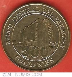 Imaginea #2 a 500 Guaranies 2002