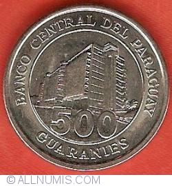 Imaginea #2 a 500 Guaranies 2006
