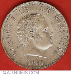 Imaginea #1 a 500 Reis 1891