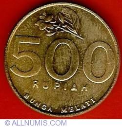 Image #2 of 500 Rupiah 1997