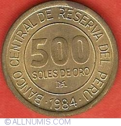 Image #2 of 500 Soles 1984