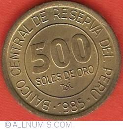 Image #2 of 500 Soles 1985