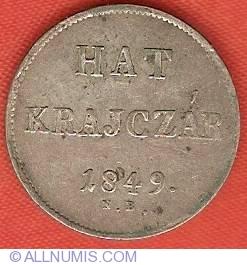 Imaginea #2 a 6 Krajczar 1849