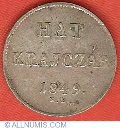 Image #2 of 6 Krajczar 1849