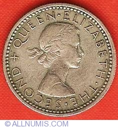 Image #1 of 6 Pence 1957