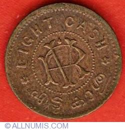8 Cash ND (1906-1935)
