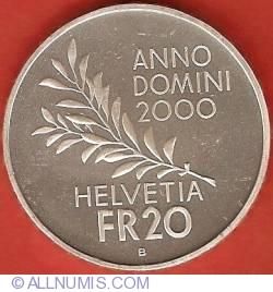 Image #1 of 20 Francs 2000