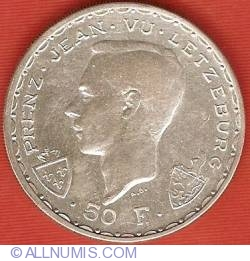 Image #1 of 50 Francs 1946 - John the Blind