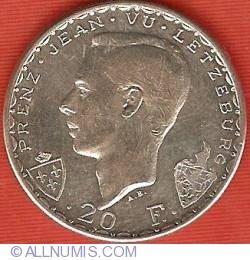 Image #1 of 20 Francs 1946 - John the Blind