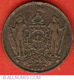 Image #2 of 1 Cent 1889