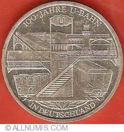 Image #2 of 10 Euro 2002 D - Berlin Subway Centennial
