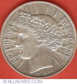 Image #2 of 100 Francs 1988