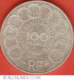 Image #1 of 100 Francs 1992 - Jean Monnet