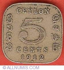 Imaginea #2 a 5 Cents 1912