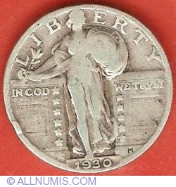 Image #1 of Standing Liberty Quarter 1930