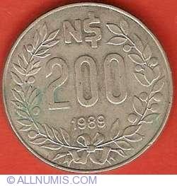 200 Nuevos Pesos 1989