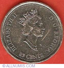 Image #1 of 25 Cents 1999 - May