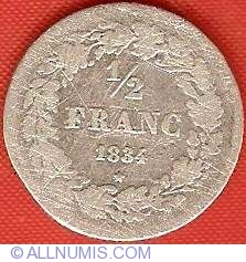 Imaginea #2 a 1/2 Franc 1834