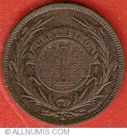 Image #2 of 1 Centesimo 1869