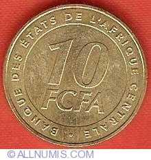 Imaginea #2 a 10 Francs 2006
