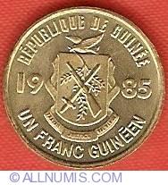 Imaginea #1 a 1 Franc 1985