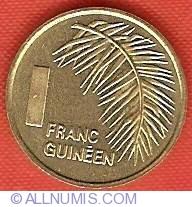 Imaginea #2 a 1 Franc 1985