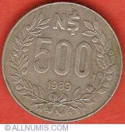 500 Nuevos Pesos 1989