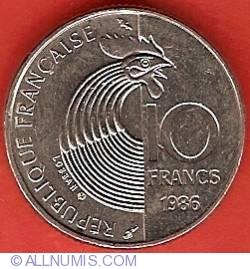 Image #2 of 10 Francs 1986 - Robert Schuman