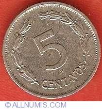 Imaginea #2 a 5 Centavos 1937