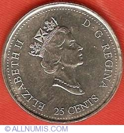 Image #1 of 25 Cents 1999 - June