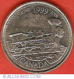 Image #2 of 25 Cents 1999 - June