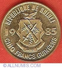 Imaginea #1 a 5 Franci 1985