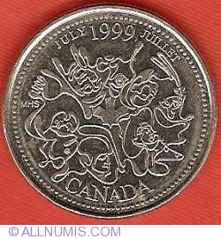 Image #2 of 25 Cents 1999 - July