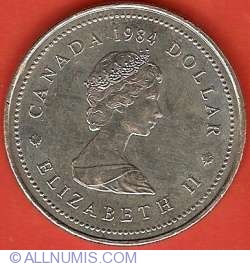 Image #1 of 1 Dollar 1984 - Jacques Cartier