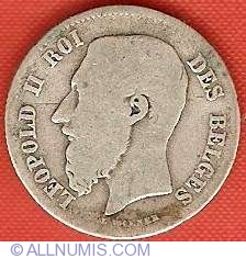 Image #1 of 50 Centimes 1866 French
